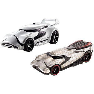 Hot Wheels Star Wars First Order Stormtrooper and Captain Phasma