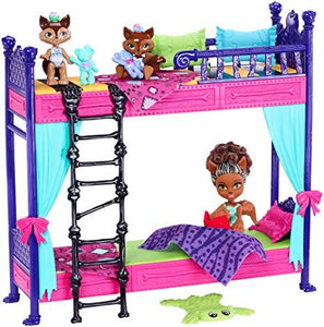 Monster High Monster Family Wolf Bunk Bed Playset with Dolls
