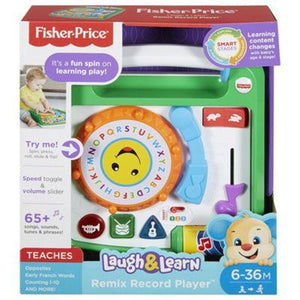 Fisher Price Laugh and Learn Remix Record Player