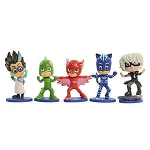 PJ Masks Collectible Figures Set 5 pack