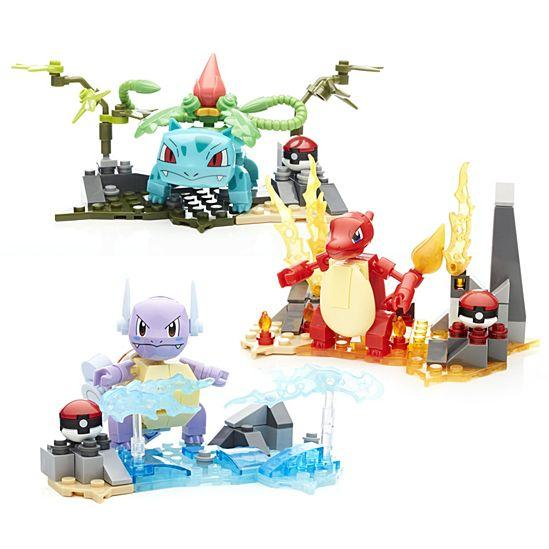 Mega Construx Pokemon Buildable Figures and Environments Gift Set