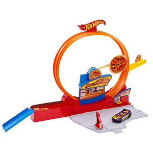 Hot Wheels Speedy Pizza Track Set