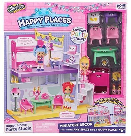 Shopkins Happy Places - Happy Home Games Room and Laundry