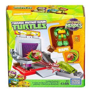 Mega Bloks Teenage Mutant Ninja Turtles Half-Shell Heroes Cookie Factory