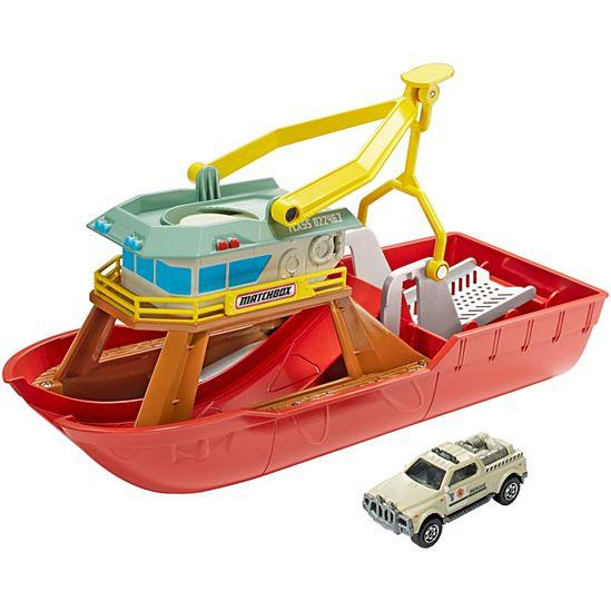 Matchbox Dunk N Launch Boat