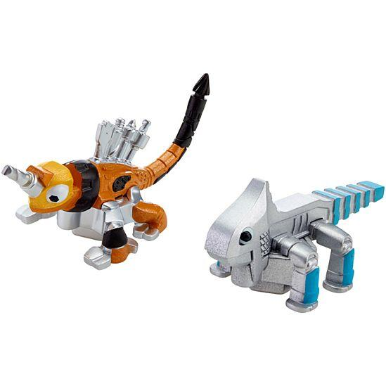 Dinotrux Ace and Click-Clack Character 2-Pack