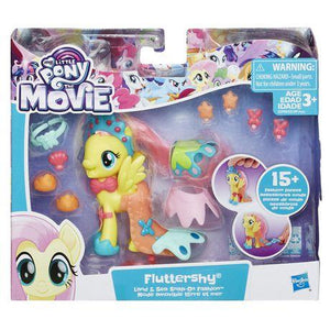 My Little Pony the Movie Fluttershy Land and Sea Snap-On Fashion