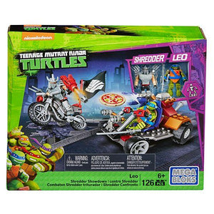 Mega Bloks Teenage Mutant Ninja Turtles Leo Shredder Showdown