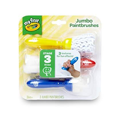 Crayola My First Jumbo Paintbrushes