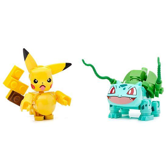 Mega Construx Pokemon Pikachu vs. Bulbasaur