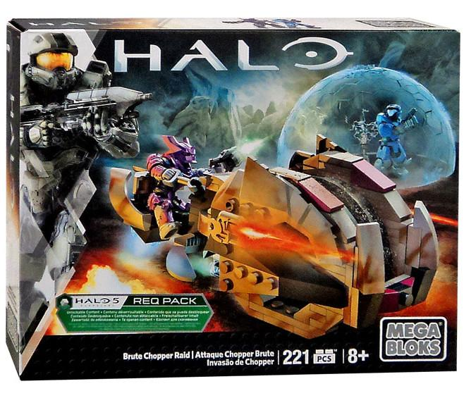 MegaBlocks Halo Brute Chopper Raid