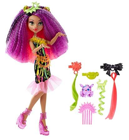 Monster High Electrified Monstrous Hair Ghouls Clawdeen Wolf Doll