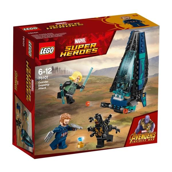 Lego Marvel Super Heroes Marvel Avengers Infinity War Outrider Dropship Attack Set