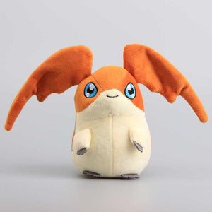 Digimon Adventure Patamon Plush Toy Cute Stuffed Animals Children Soft Dolls