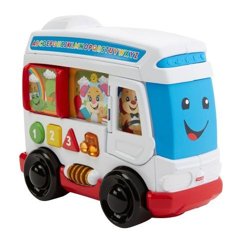 Fisher Price Laugh and Learn - Learn Around Town Bus