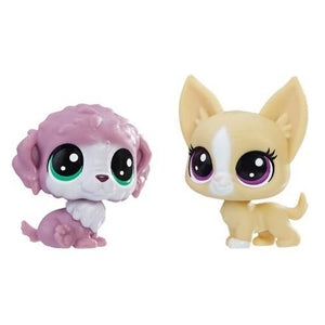 Littlest Pet Shop Chunky Waterfluff and Mayor Perrito