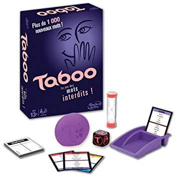 Hasbro Taboo Board Game
