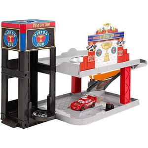 Disney Pixar Cars Piston Cup Racing Garage