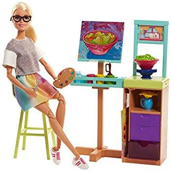 Barbie Art Studio Playset