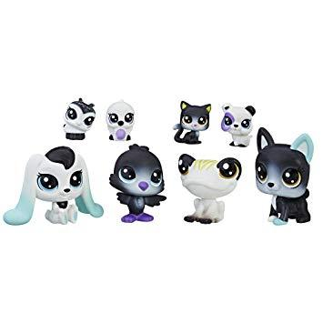 Littlest Pet Shop Black and White