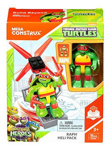 Mega Bloks Teenage Mutant Ninja Turtles Raph Heli Pack Figure