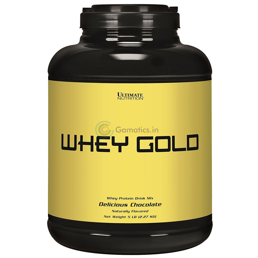 Ultimate Nutrition Whey Gold, 5 lb Chocolate