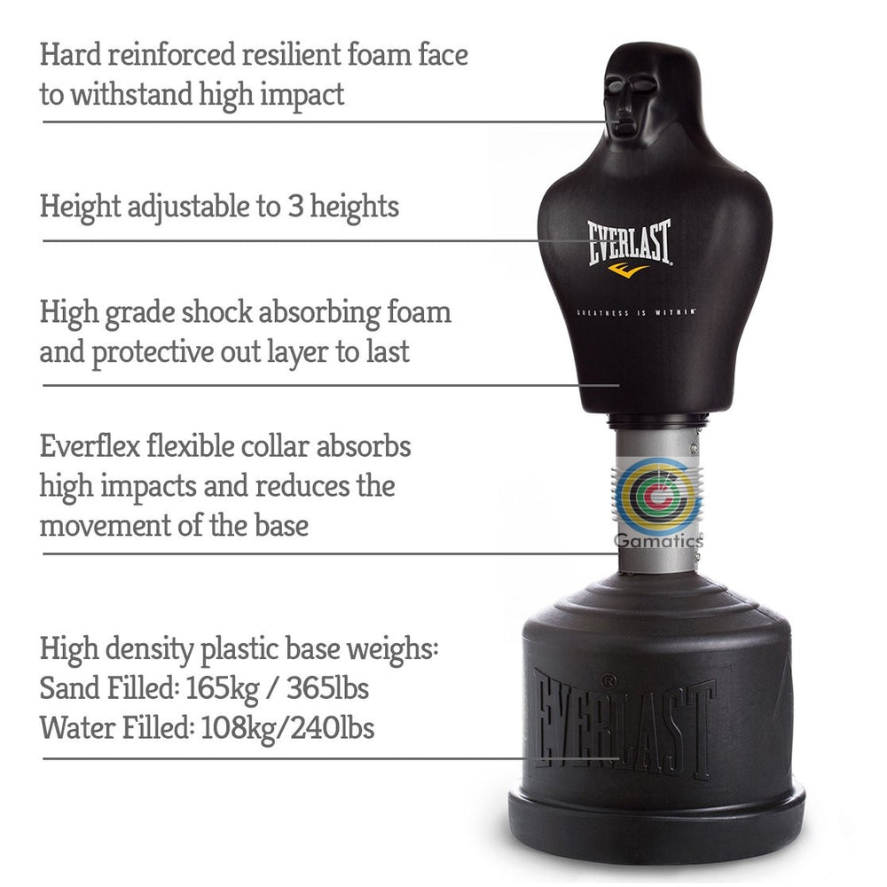 Everlast Everflex Sparring Punch Man Black