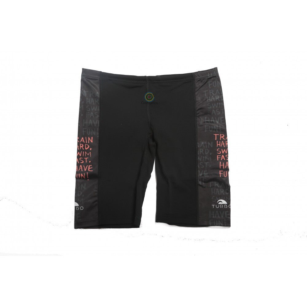 Turbo Men's Swim Fast Train Hard Jammer