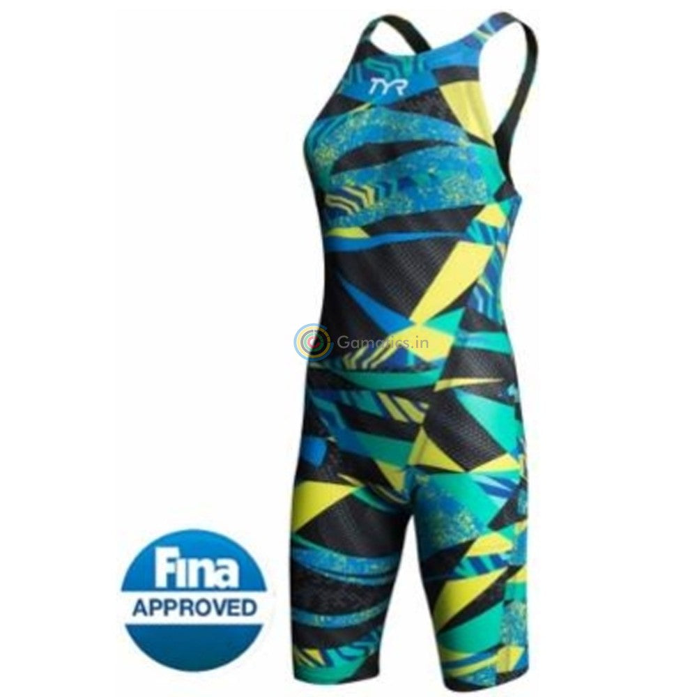 Tyr Avictor Prelude Female Open Back Kneeskin Tech Suit
