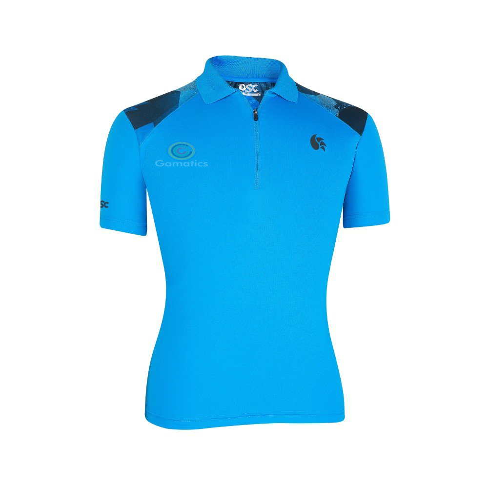 DSC Men's T-Shirt (Half Zipper Polo)