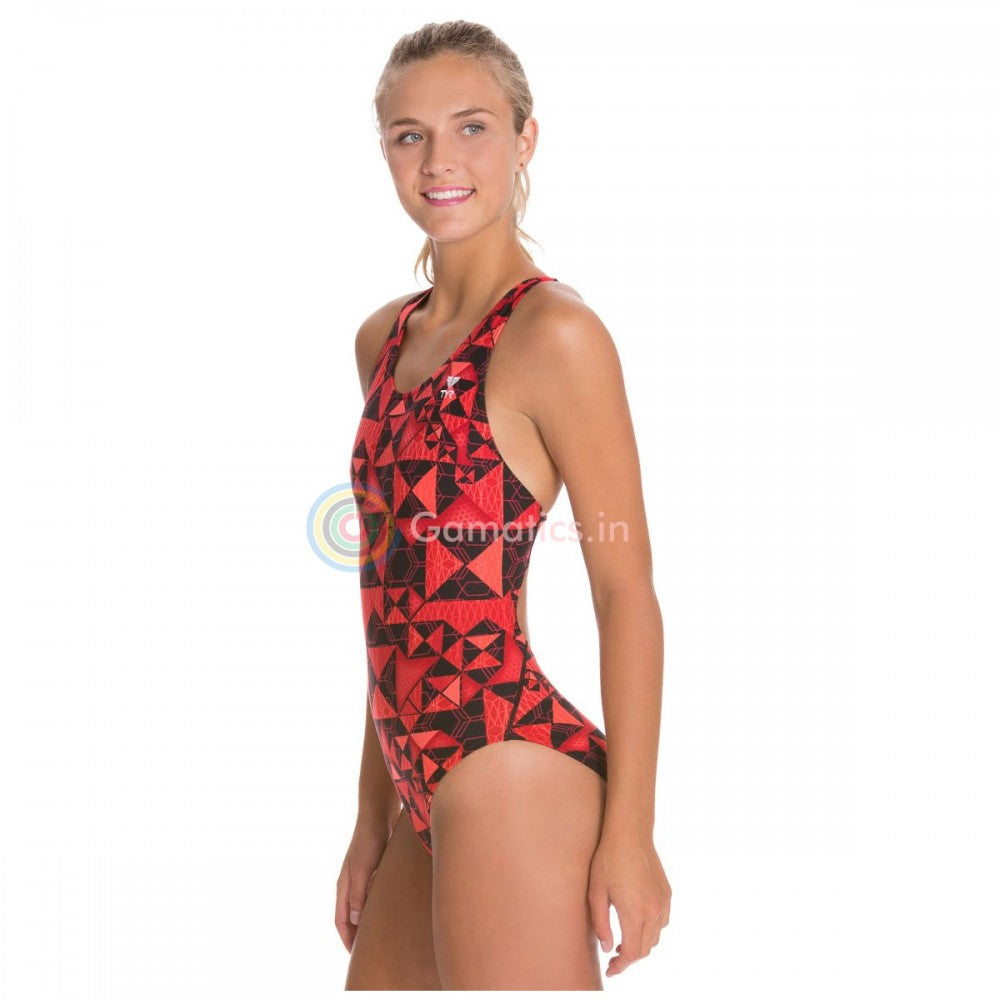 TYR Women's Durafast elite  Kaleidoscope Swimsuit Max fit
