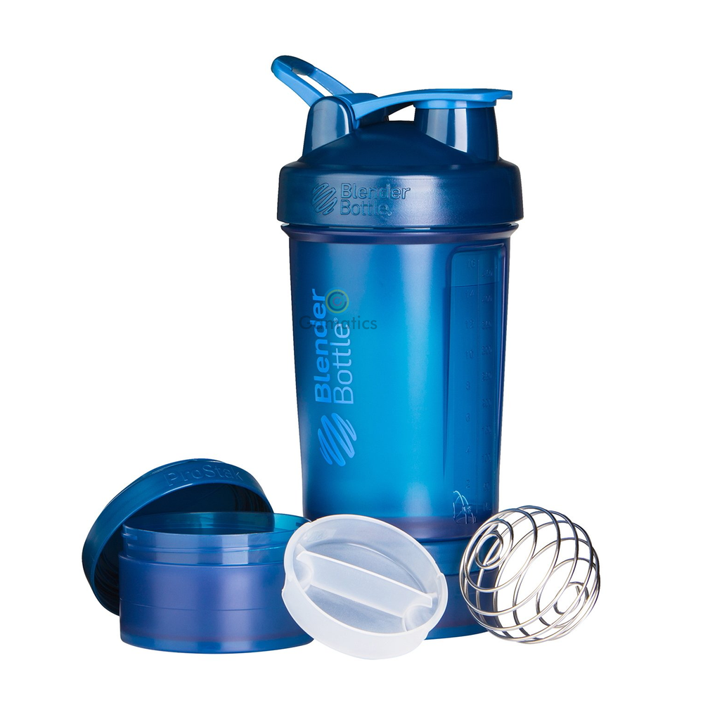 Blender Bottle Prostak system with Bottle And Twist N Lock Storage 22 oz