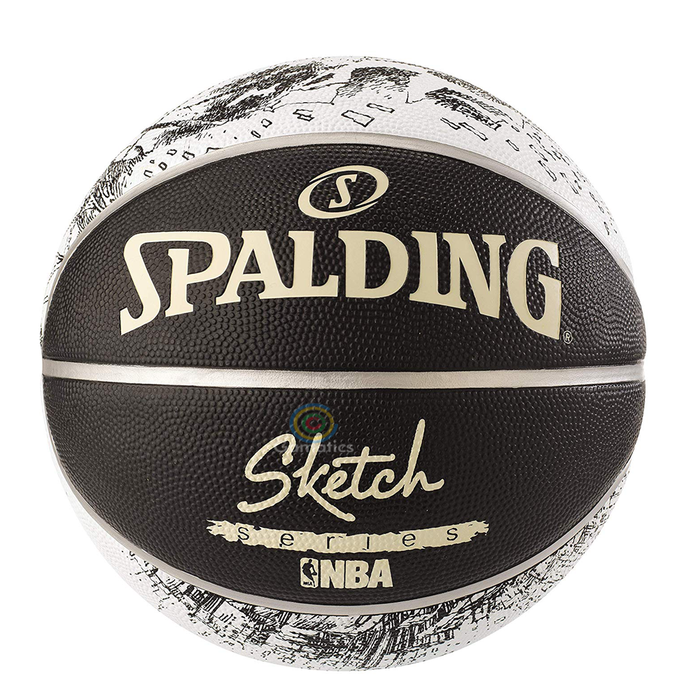 Spalding Rubber Basketball ( Size 7)
