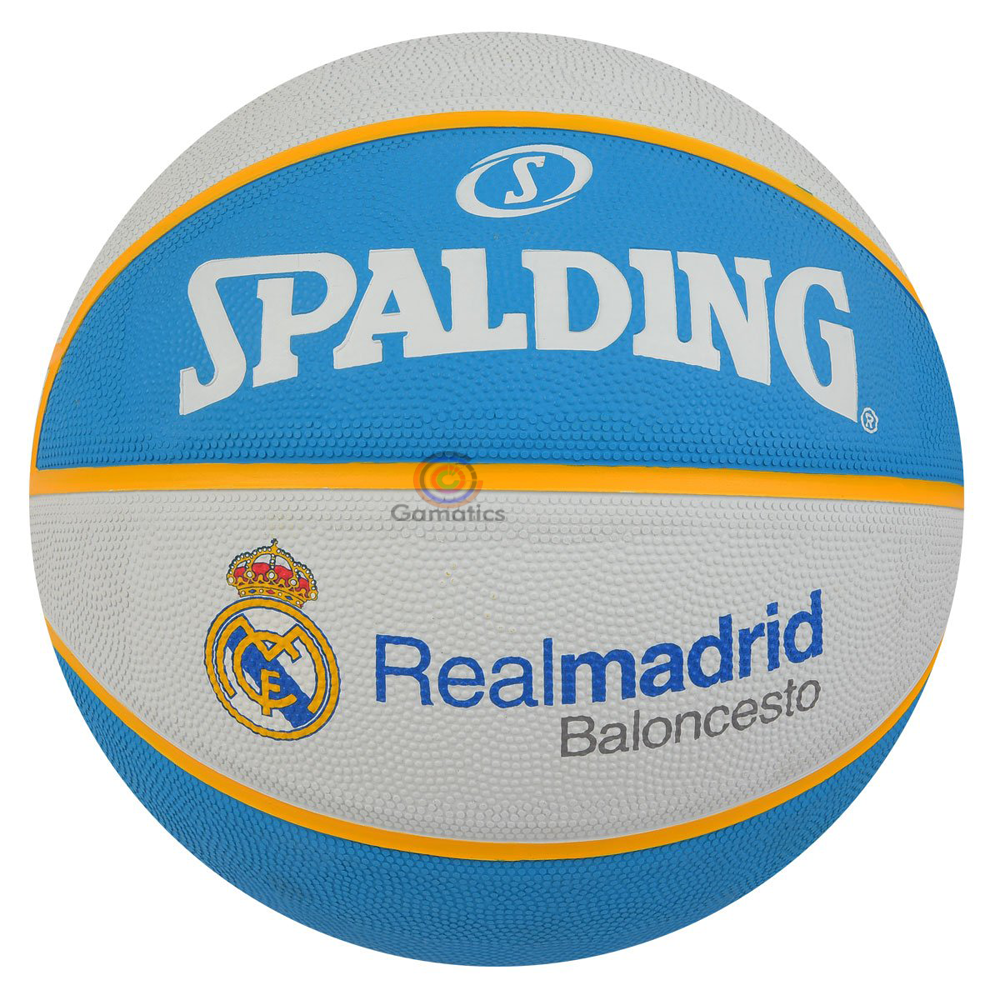 Spalding Real Madrid Basketball (Size-7)