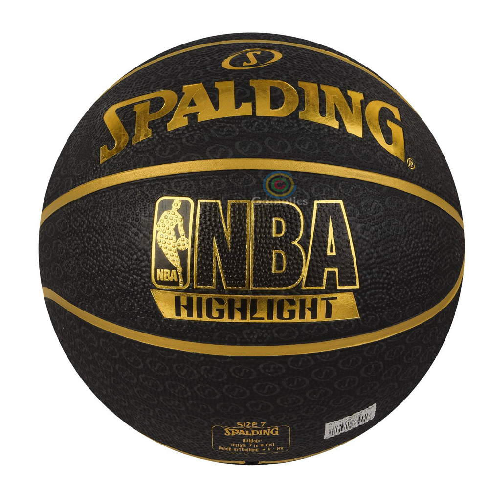 Spalding Fast S Highlight Basketball (Size 7)