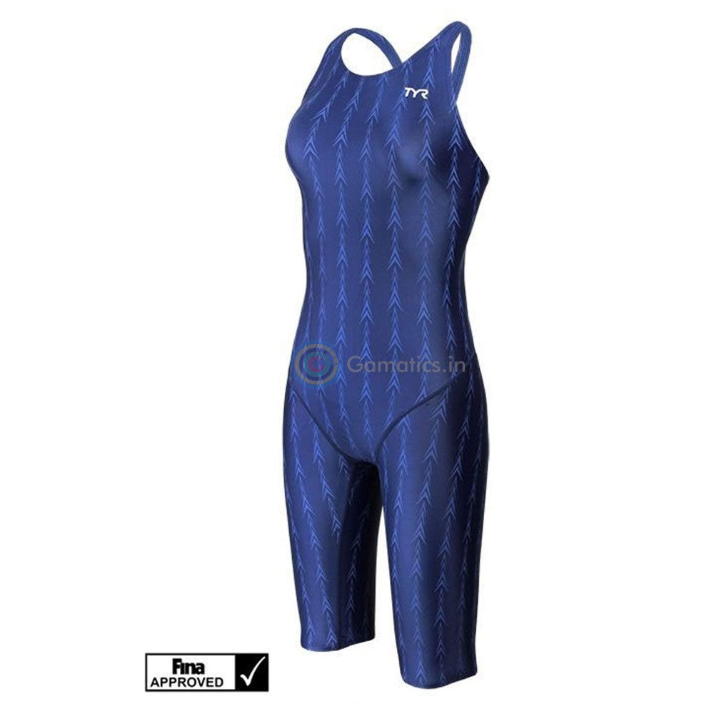 TYR Women's Fusion 2 Aerofit Shortjohn Swimsuit (Racing)