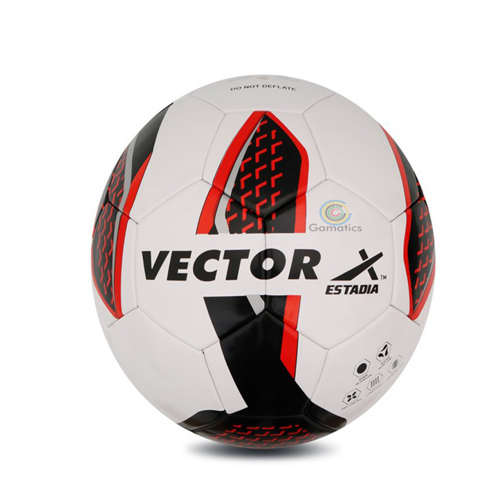 Vector X Thermo Bonded Estadia Football (Blue & Red)
