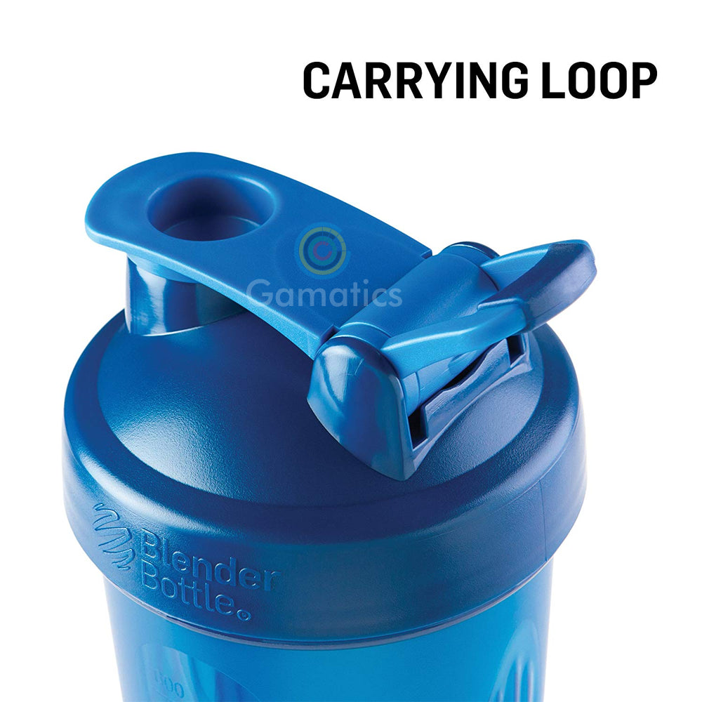 Blender Bottle Classic Loop Top plastic shaker bottle – Gamatics Store