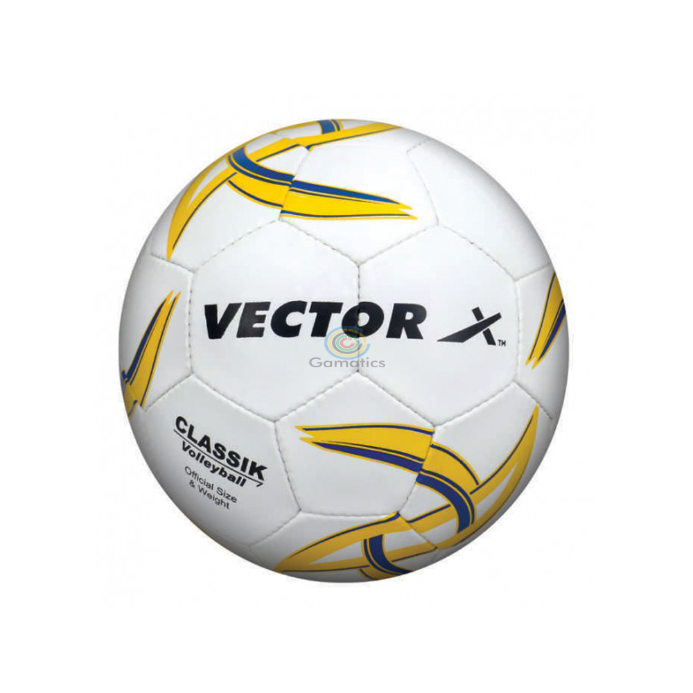 Vector X Classik Volleyball 32 Panels (White-Blue)