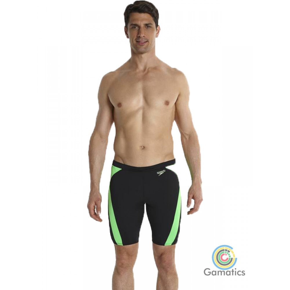 Speedo Men's Logo Graphic Splice Jammer