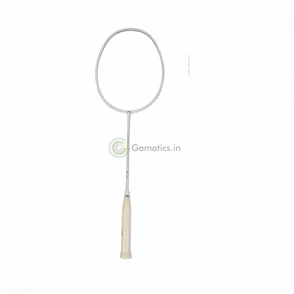 Li-Ning XiPhos X-1 White Limited Edition Unstrung Badminton Racket