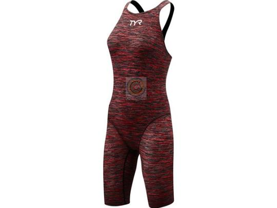 TYR Thresher Baja Female Open Back Swimsuit