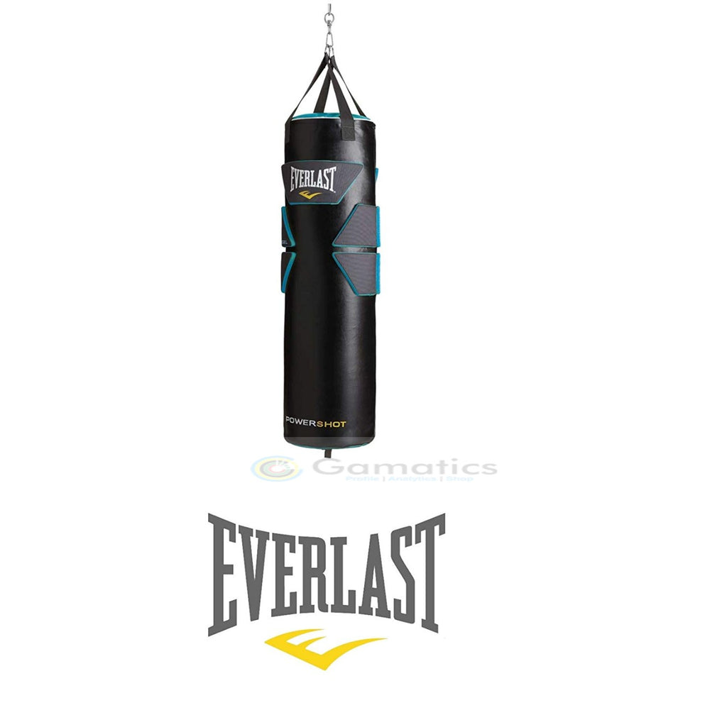 Everlast Boxing Heavy Punching Bag (Powershot Gel Shell Filled)