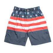 Burnside True Patriot Swim Trunk