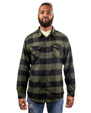 SWITCHBACK MENS PLAID FLANNEL