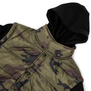 TACTICAL MENS SLEEVED PUFFER VEST
