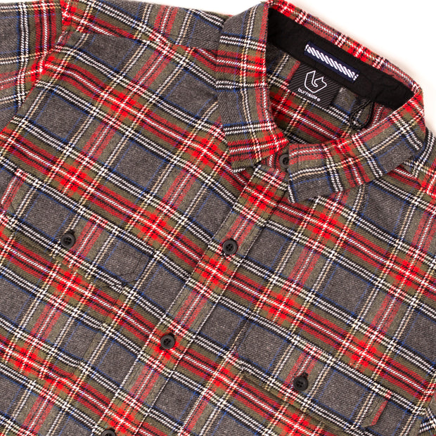 VULCAN MENS PLAID FLANNEL