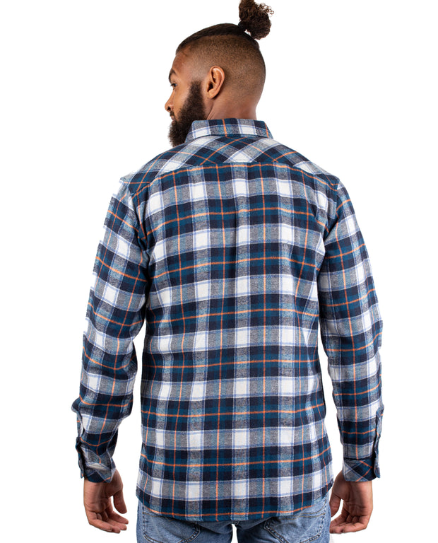 WANDERER MENS PLAID FLANNEL
