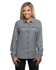 FLINTROCK LADIES SOLID FLANNEL
