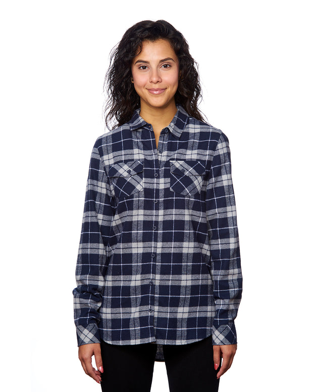 THRESHOLD LADIES PLAID FLANNEL